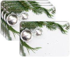 RoomDecor.eu Vianočné prestieranie-083, 4 Ks