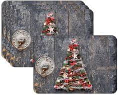 RoomDecor.eu Vianočné prestieranie-089, 4 Ks
