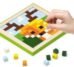 CUBIKA mozaika Pixel III Zwierzątka 14897, 250 elementów