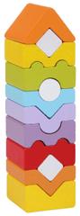 CUBIKA puzzle drewniane Wieża 14996, 12 elementów