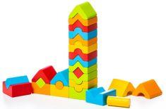 CUBIKA zestaw 5 wież LD-13 15016, 25 elementów