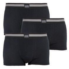 Jockey 3PACK pánské boxerky černé (17302913 999)