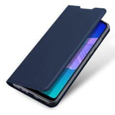 Dux Ducis Skin Pro knížkové kožené pouzdro na Huawei P40 Lite E, modré