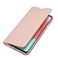 Dux Ducis Skin Pro bőr könyvtok Samsung Galaxy A41, rózsaszín