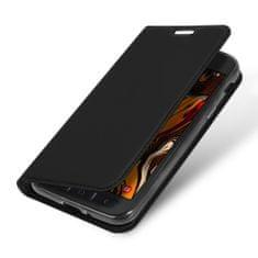 Dux Ducis Skin Pro knížkové kožené pouzdro na Samsung Galaxy Xcover 4s, černé