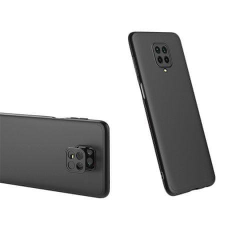 GKK 360 Full Body műanyag tok Xiaomi Redmi Note 9 Pro / Redmi Note 9S, fekete