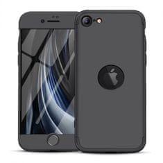 GKK 360 Full Body műanyag tok iPhone SE 2020, fekete