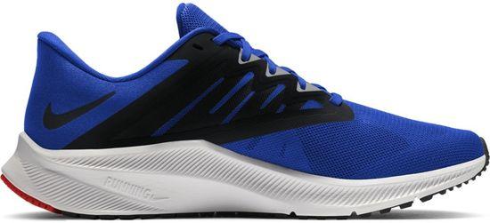 Nike pánská běžecká obuv Quest 3 45,5, modrá