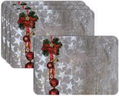RoomDecor.eu Vianočné prestieranie-093, 4 Ks