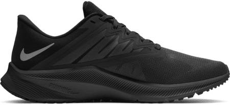 Nike Quest 3 moški tekaški čevlji, črni, 44,5