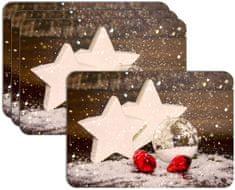 RoomDecor.eu Vianočné prestieranie-096, 4 Ks