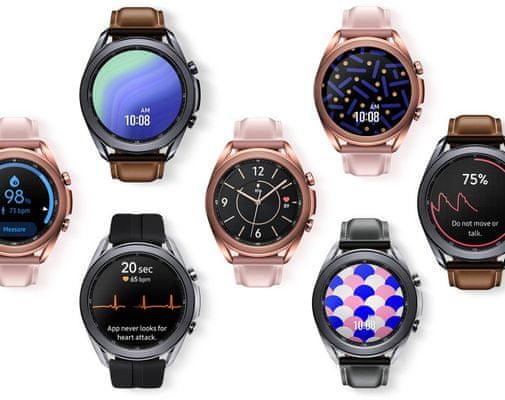 Samsung Galaxy Watch3, športové fitness funkcie