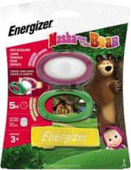 Energizer Maša i medvjed dječja LED svjetiljka za glavu, 2 x CR2032