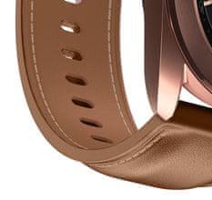 Samsung Galaxy Watch3, kožený remienok