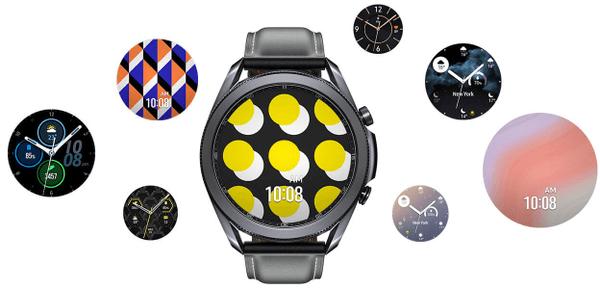 Samsung Galaxy Watch3, nastaviteľný ciferník