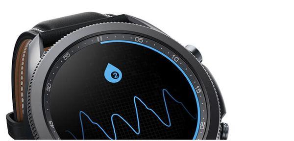 Samsung Galaxy Watch3, množstvo kyslíka v krvi, SpO2