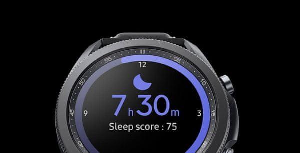 Samsung Galaxy Watch3, sledovanie spánku, rady pre lepší spánok