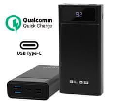 Blow PB40A Powerbank prijenosna baterija, 40.000 mAh, crna