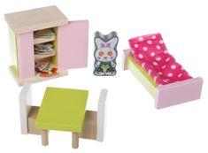 CUBIKA soba - drveni namještaj za lutke 12640