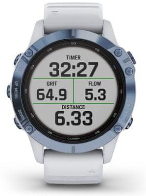 Chytré hodinky Garmin fenix 6 Pro Solar, hudební přehrávač, bezkontaktní platby, notifikace z telefonu, z aplikací