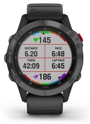 Chytré hodinky Garmin fenix 6 Pro Solar, hudobný prehrávač, bezkontaktné platby, notifikácia z telefónu, z aplikácií