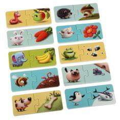 Puzzlika 12992 Moje jedlo - náučné puzzle 20 dielikov