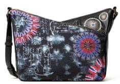 Desigual černá crossbody kabelka Bols Black Paper Harry Mi 20WAXACS