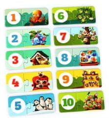 Puzzlika 13005 Priatelia - náučné puzzle 20 dielikov