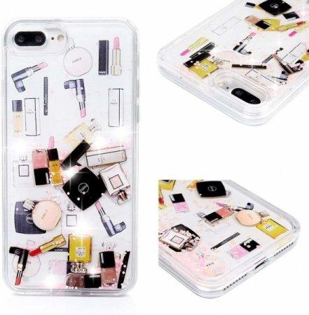 Ovitek Make Up Apple iPhone SE 2020/7/8, silikonski, z bleščicami