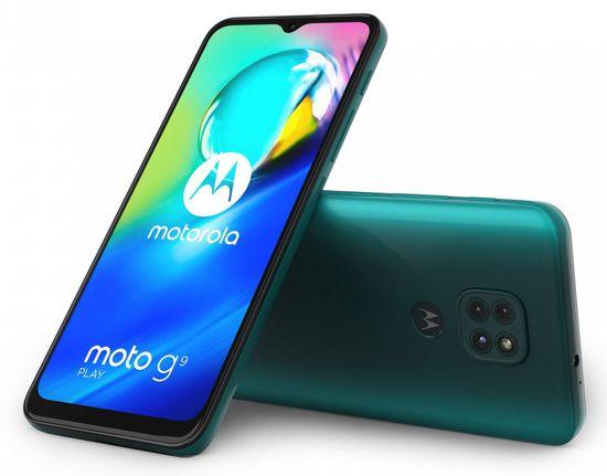 Motorola G9 Play, 4GB/64GB, Forest Green