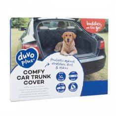Duvo+ Csomagtartó védő takaró kutya szállításához 147x120 -fekete