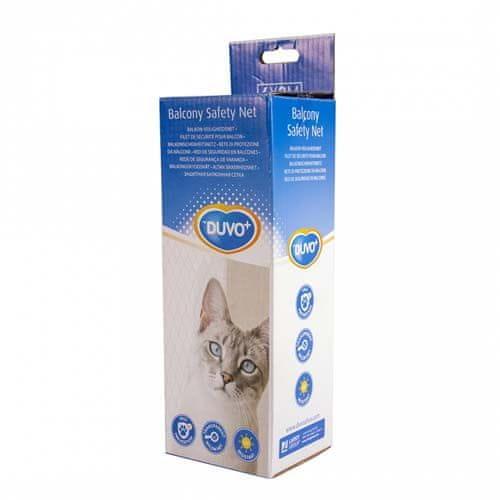 Duvo+ Ochranná sieť na balkón pre mačky 400x300cm
