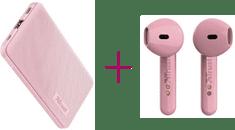 Trust Primo Powerbank 5.000 Pink, 23862