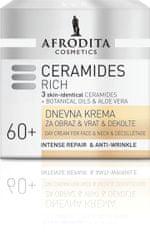 Kozmetika Afrodita Ceramides Rich dnevna krema, 50 ml