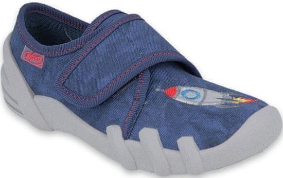 Befado chlapčenské papučky Skate 273X302 25, modrá
