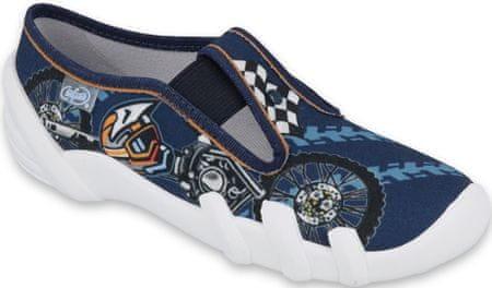 Befado kapcie chłopięce Skate 290X211 25 ciemnoniebieskie