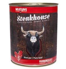 Meat Love Konzervy STEAKHOUSE - 100% hovädzie mäso 800g