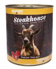 Meat Love Konzervy STEAKHOUSE - 100% kozie mäso 800g