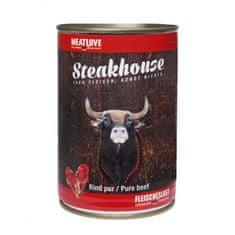 Meat Love Konzervy STEAKHOUSE - 100% hovädzie mäso 400g