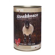 Meat Love Konzervy STEAKHOUSE - 100% jahňacie mäso 400g