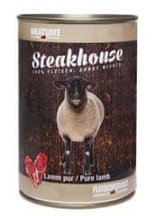 Meat Love Konzervy STEAKHOUSE - 100% jahňacie mäso 800g