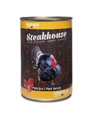 Meat Love Konzervy STEAKHOUSE - 100% morčacie mäso 400g