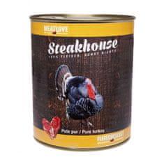 Meat Love Konzervy STEAKHOUSE - 100% morčacie mäso 800g