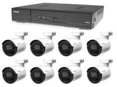 Avtech Kamerový set 1x DVR DGD1009AV a 8x 5MPx Bullet kamera DGC5105T + 4x napájací zdroj ZADARMO!