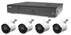 Avtech Kamerový set 1x DVR DGD1005AV a 4x 5MPx Bullet kamera DGC5105T + 2x napájací zdroj ZADARMO!