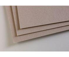 Clairefontaine Pastelmat 50x70cm dark grey (360g/m2) 5ks,
