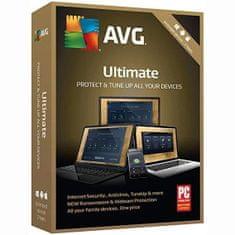 Antivirová ochrana AVG Ultimate-s platností podpory na 2 roky ( obsahuje Internet Security Unlimited a TuneUp Unlimited ) - BOX