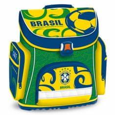Brazil školska torba, ABC, zelena/žuta