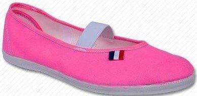 Toga buty do ćwiczeń dziewczęce neonowo różowe 35