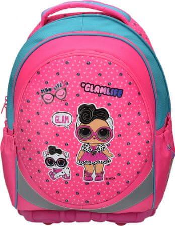 L.O.L. Surprise! školska torba, ergonomska, roza